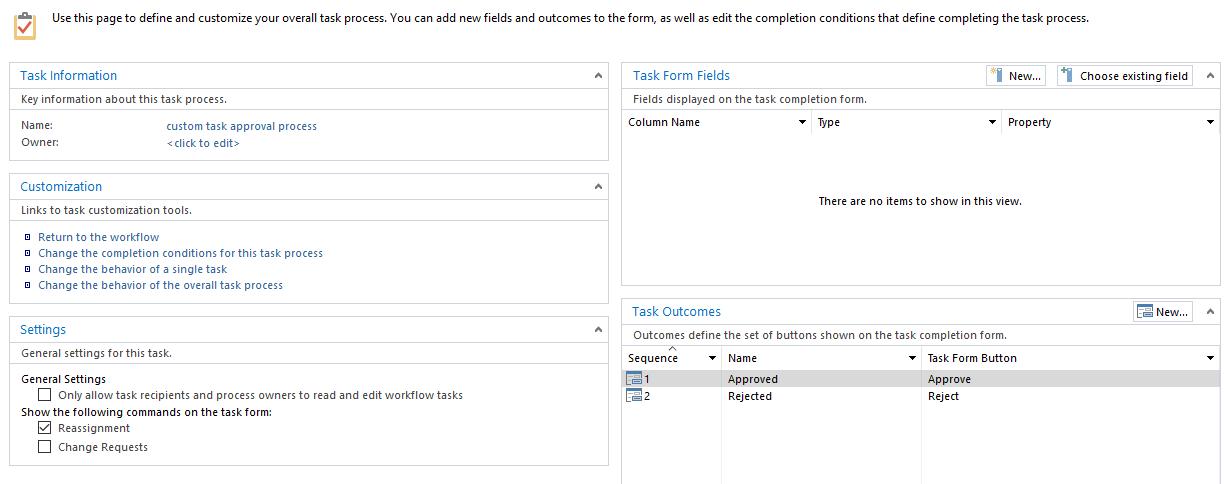 3 custom task process