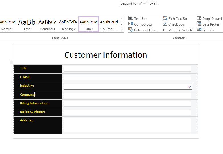 Microsoft infopath form templates image collections for Microsoft infopath form templates