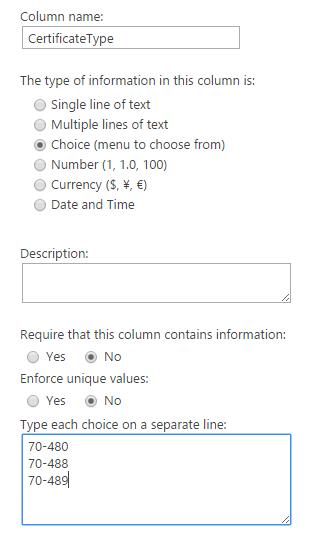 HTML form SharePoint 1