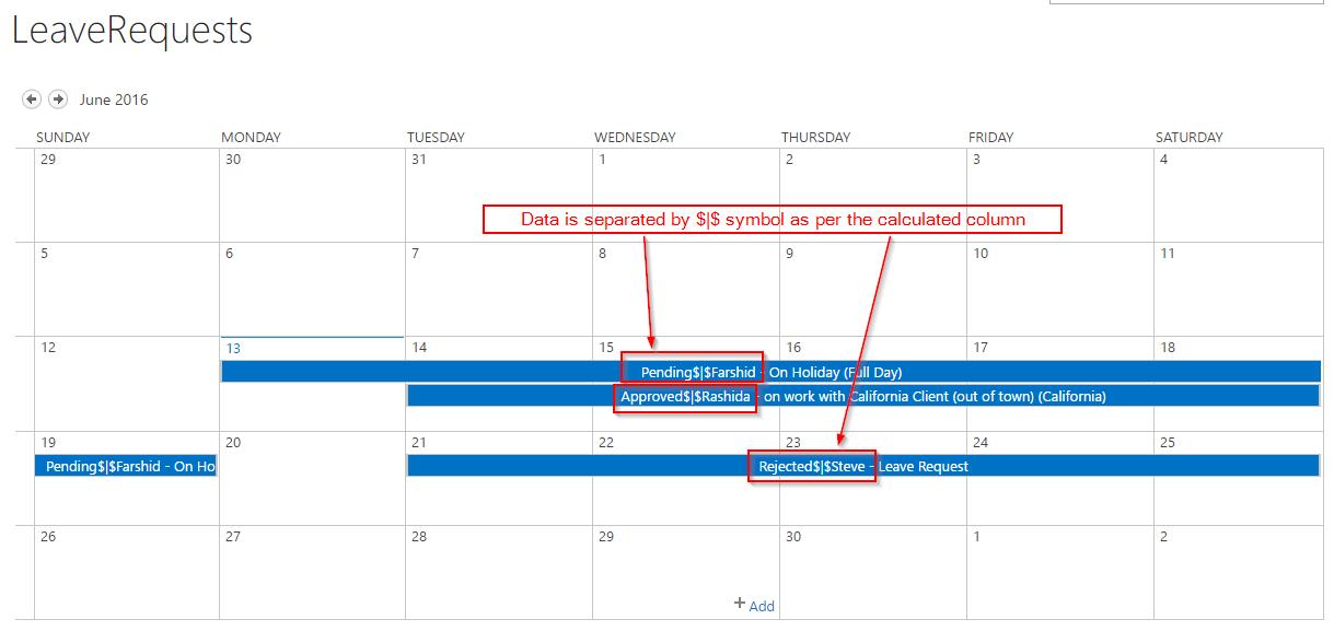calendar overlay javascript 4