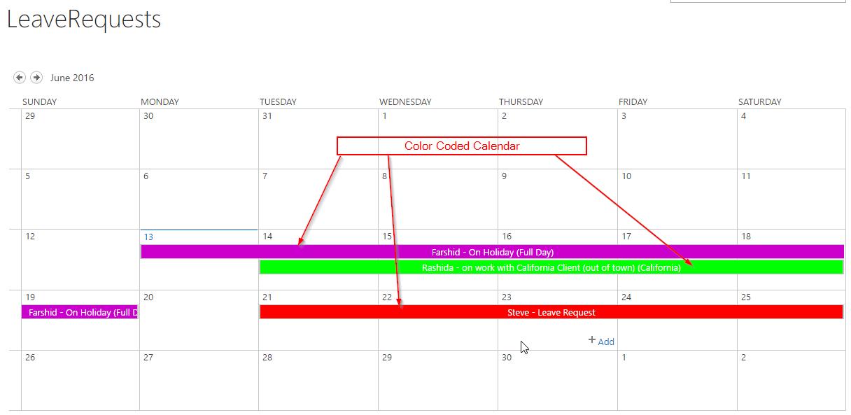 calendar overlay javascript 5