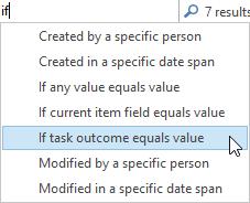 10 task outcome